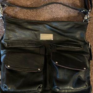 EUC Kelly Moore Crossbody Black Leather Bag